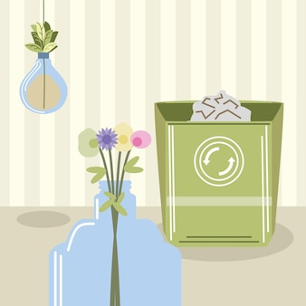 再利用可能なエコログ製品