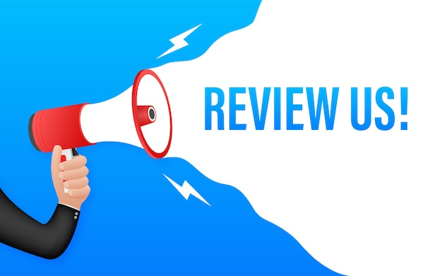 Review us illustration