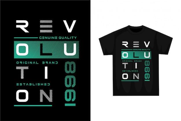Revolution - graphic t-shirt