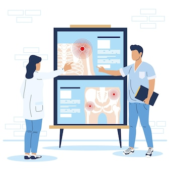 Rheumatologists doctors couple