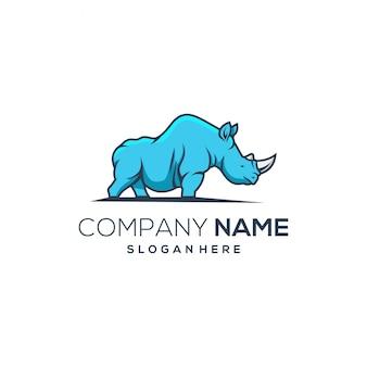Rhino blueのロゴ