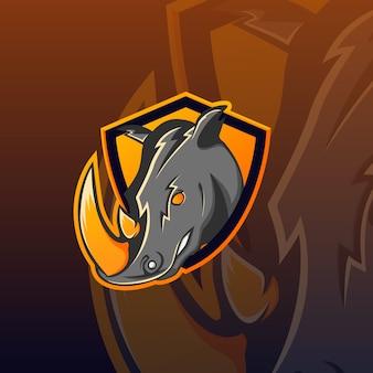 Rhino eスポーツのロゴ
