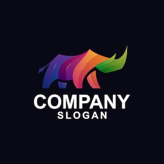 Rhino gradient logo
