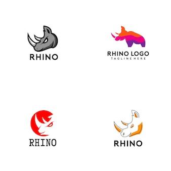 Rhino logo collection