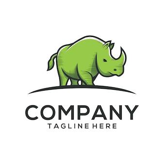 Rhino logo vector