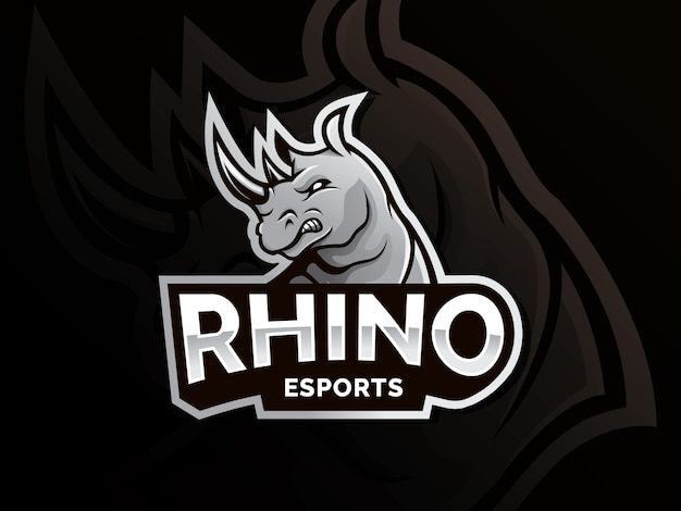 Rhino vector logo
