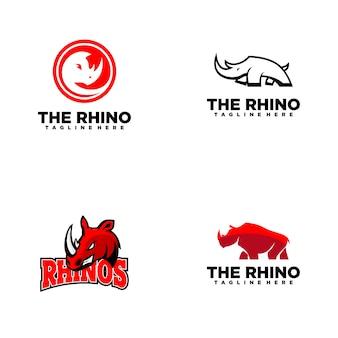 Коллекция логотипов rhino