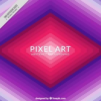Rhombus background in pixel art style