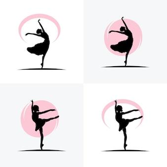 Спортсмены по художественной гимнастике, спортивные значки, спортивные логотипы