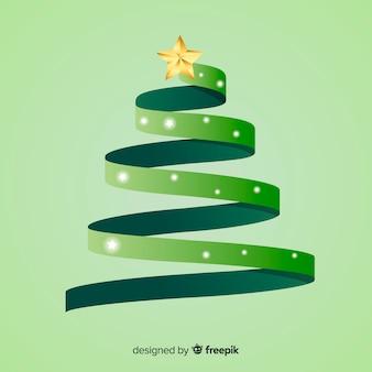 리본 크리스마스 트리
