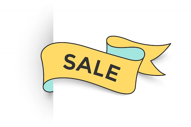Ribbon with text sale