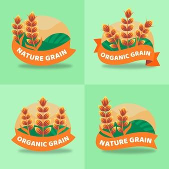 Rice logo collection