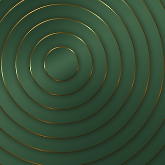 Rich circle background