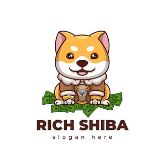 Логотип rich shiba