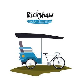 Rickshaw transportation design