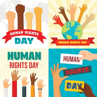 Rights day backgrounds