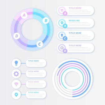 Кольцо инфографики