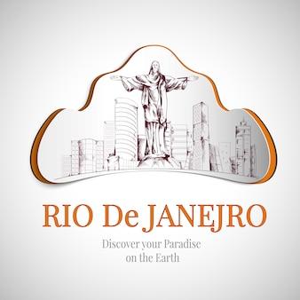 Rio de janeiro city emblem