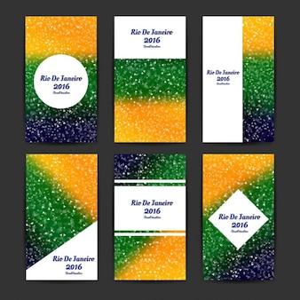 Brasile modelli di colori aziendali