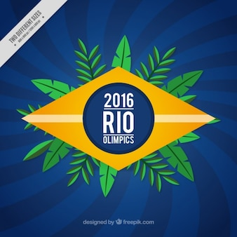 Rio olimpics background