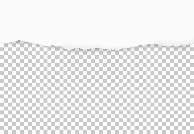 Разорванные края бумаги для фона. Premium векторы