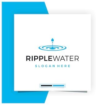 Ripple water логотип дизайн вдохновение