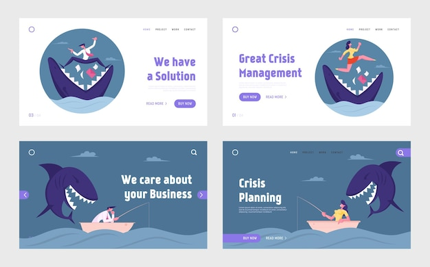 Управление рисками, опасная ситуация, агрессия на целевой странице бизнеса