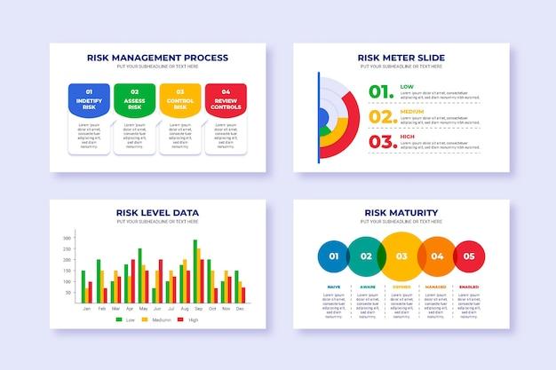 リスク管理のインフォグラフィック