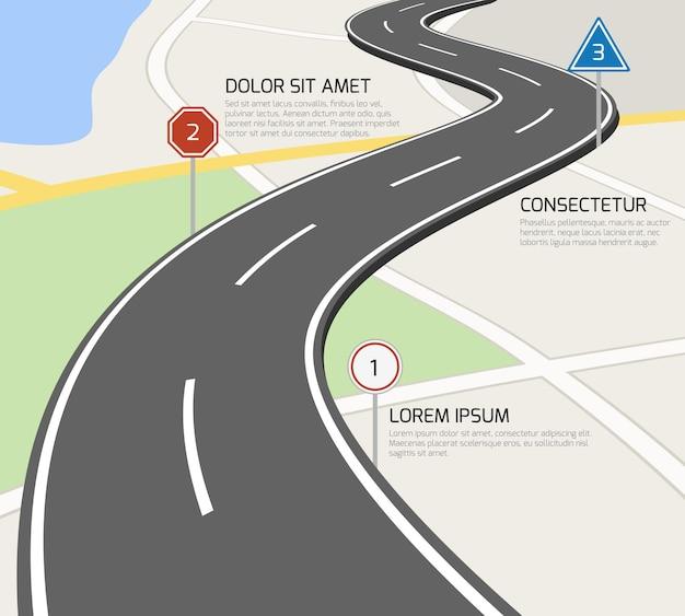 도로 인포 그래픽
