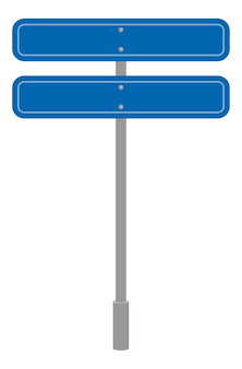 Road sign geometric shape, traffic symbol cartoon isolated icon
