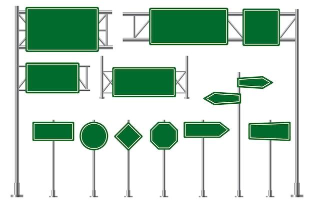 Road sign illustration