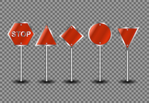 Road sign street  illustration, traffic blank concept city board tranportation, isolated billboard object transport circle element