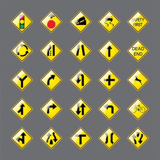 도로 표지판.