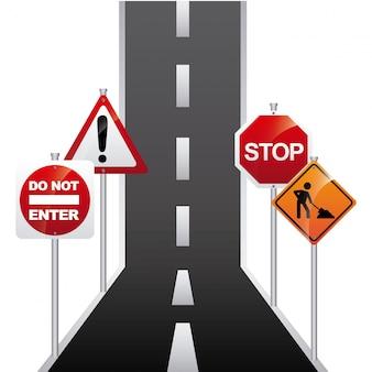 도로 신호 설계