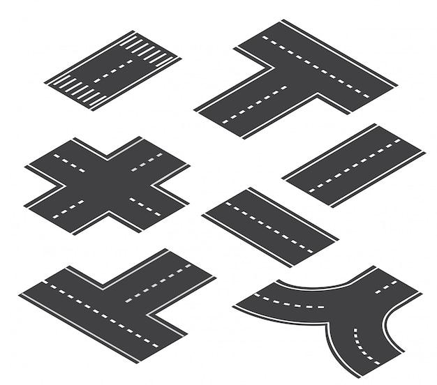 The road streetlight traffic
