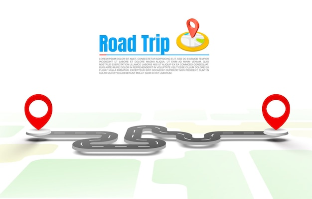 Road trip taxi, pave the route, location information