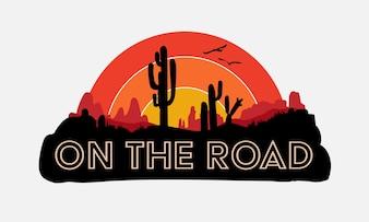 Road trip tee design