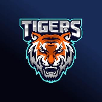 とどろく虎のロゴデザイン