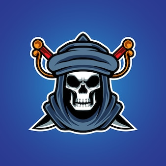 強盗eスポーツマスコットロゴ