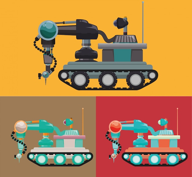Робот и технология дизайна