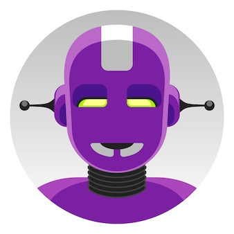 Robot android super hero