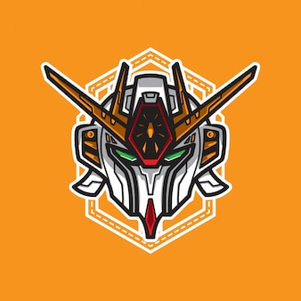 Robot head vector