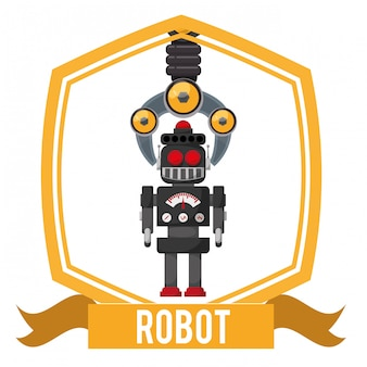 Robot icon design