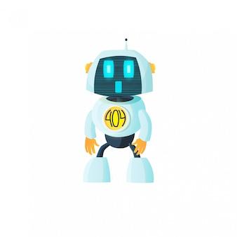 Robot is showing error 404.