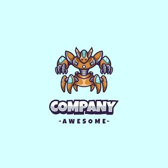 Robot logo mascot