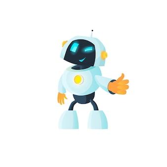 Робот показывает палец вверх