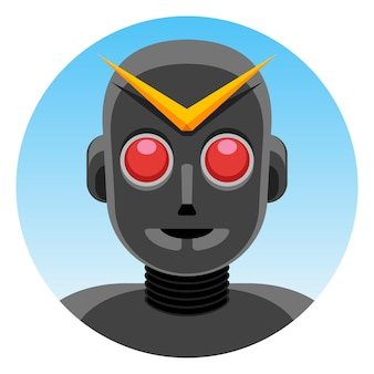 Robot super hero