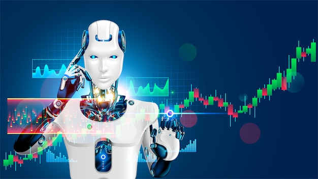 Robot trading on stock market