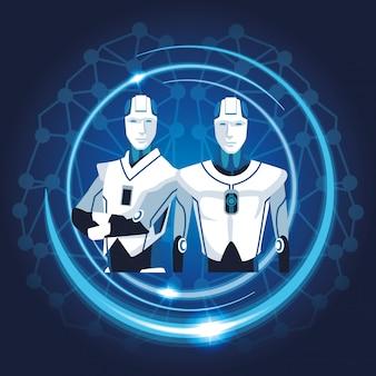 Робот с искусственным интеллектом