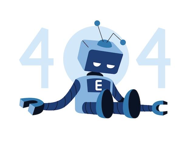 A robot not working